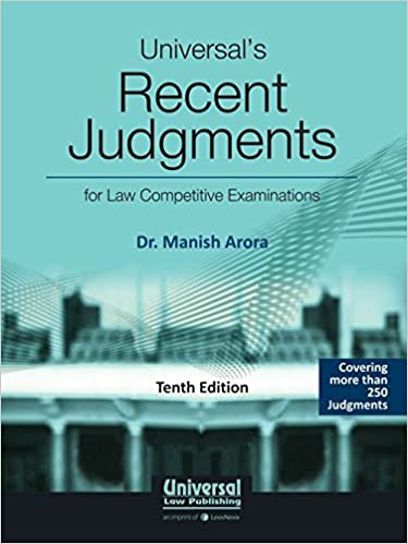 Universal's Recent Judgments for Competitive Examinations