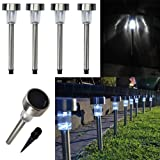 Preyank Solar 10 X Solar Led Light For Path Garden Outdoor Landscape Yard Cool White Lamp