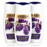 Vaadi Value Pack Of 3 LAVENDER SHAMPOO With Rosemary Extract-Intensive Repair System (110mlx3)