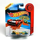 Jet Threat 3.0 Hot Wheels Designed For Speed 2013 High Speed Racing Wheels Series Vehicle (Bdw21)