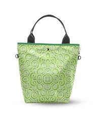 Atrangee Green Twirly Tall Tote Bag (Green)