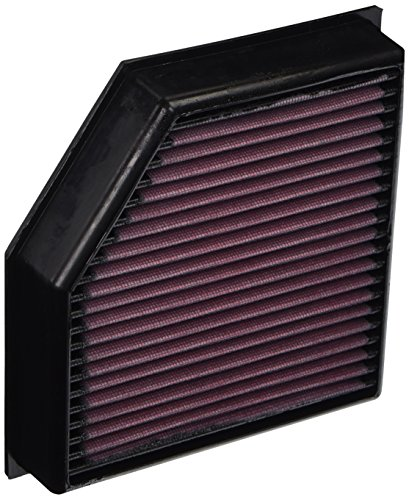 K&N 33-2491 High Performance Replacement Air Filter