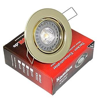 7 Watt LED Deckenspot Dimmbar Strahler Bajo mit 7W=52W LM GU10 Hochvolt 230V