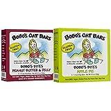 Bobo's Oat Bars Gluten Free Bobo's Bites 2 Flavor Variety Bundle: (1) Bobo's Bites Peanut Butter & Jelly, And...