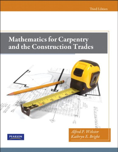Mathematics for Carpentry and the Construction