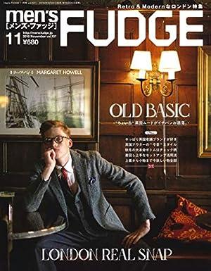 men's FUDGE - メンズ ファッジ - 2018年 11月号