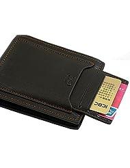 Premium Quality Men's Leather Wallet By SANTECH Modal No-STWLTX3 COLOR DARK BLUE