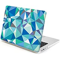 Gmyle Hard Case Print Frosted (Geometric Pattern) For 13 Inch MacBook Air - Blue Geometric