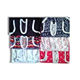New Born Top And Bottom Set Ll 1-2 Yearsll Pack Of 6[Multicolor Based On Stock]