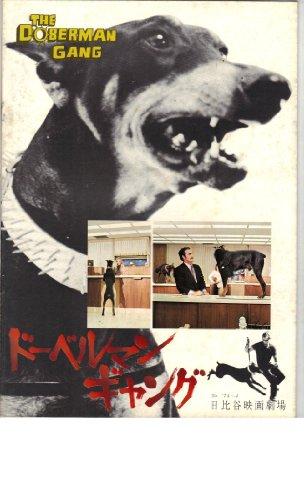 映画パンフレット 「ドーベルマンギャング」 監督 バイロン・ロス・チャドナウ 出演 バイロン・メイブ ハル・リード