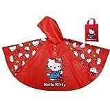 BB Designs Hello Kitty Poncho Style Rain Coat