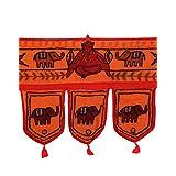 Rajrang Home Décor Embroidered Door Hanging Decorative Toran
