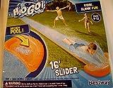 H2O Go Lawn Water Slide 16 Feet Single Rider Lane Drench Pool