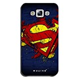 Mozine Superman Logo Designer Mobile Back Cover For Samsung E7