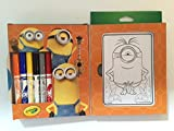 Minions Mini Bundle Coloring Tatoos Puzzle Washable Markers Activities