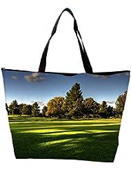 Snoogg Tress In Park Designer Waterproof Bag Made Of High Strength Nylon