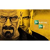 Breaking Bad (B) TV Series Poster For Office, Schools | Walls, Doors, Study Rooms, Bedrooms, Halls | Inspirational Motivational Quotes Signs-Sayings | Actors Footballer Movies Singers Legends, Superstars And Sports Players | Funny Art Matte Finish | High-