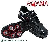 ホンマ 超軽量ゴルフシューズ SS3106 ブラック/ブラック 25.0