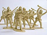 The Zulu War - British Infantry At Rorke's Drift Plastic Army Men: 16 piece set of 54mm Figures - 1:32 Scale