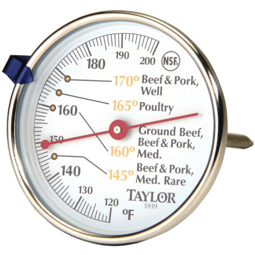 Taylor Precision Products Classic Style Meat Dial Thermometer