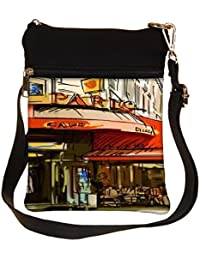 Snoogg Paris Cade Cross Body Tote Bag / Shoulder Sling Carry Bag