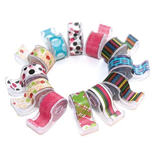 Polar Bear® Washi Masking Tape With Cute Dispenser, 0.47