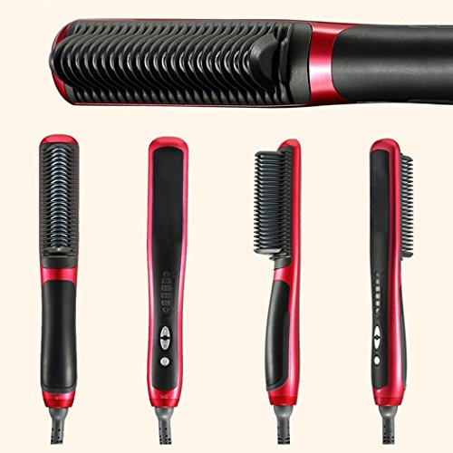 best electric hair styling brush klawa hair straightener brush best professional electric 3275