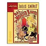 Pomegranate Jules Cheret - Moulin Rouge 1000 Piece Jigsaw Puzzle