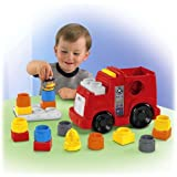 Fisher Price Little People Builders Build N Drive Fire Truck