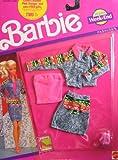 Barbie Jeans Week End Fashions Clothes (1990 Arco Toys, Mattel)