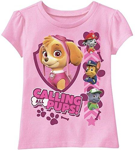 Paw Patrol Toddler Girls Shirt