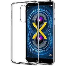 Efonebits(TM) Crystal Clear Hot Transparent Premium Soft Silicone Back Case Cover For Huawei Honor 6X