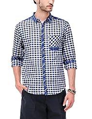 Yepme Men's Checks Cotton Shirt - YPMSHRT0484