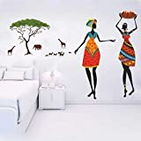 Rawpockets African Jungle Theme Wall Sticker