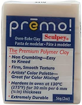 Premo Polymer Clay - How to Bake Polymer Clay on KatersAcres Blog https://katersacres.com