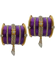 Jamuni Bridal Chura Jhumka Wedding Bangles Chuda By My Design(size-2.6)