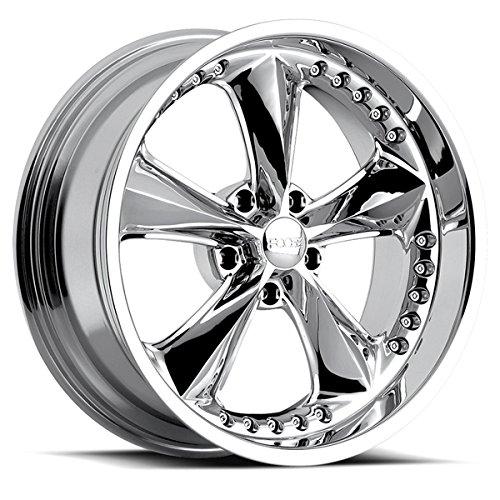 Foose F117 Nitrous 17×9.5 5×114.3 +6mm Chrome Wheel Rim