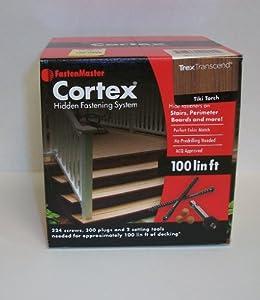 Fastenmaster Cortex for Decks Hidden Fasteners - Trex