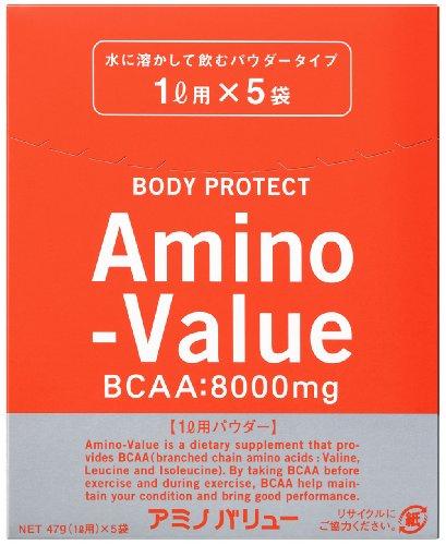 アミノバリュー パウダー8000(1L用) 47Gx5袋