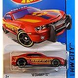 2014 Hot Wheels Hw City 10 Camaro SS - Hw Fire Dept. Red