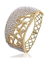 Eclat Brass Gold Plated Bracelet For Women New Fashion Jewelry (811486G)