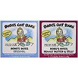 Bobo's Oat Bars Gluten Free Bobo's Bites 2 Flavor Variety Bundle: (1) Bobo's Bites Peanut Butter & Jelly, And... - B01D7KFS3S