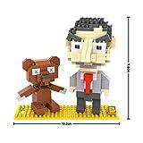 LOZ 9507 Mr Bean Bear 340pcs Building Blocks 3d DIY Bricks Toys Figure