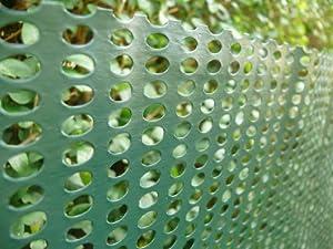 Amazon.com : 1mx30m Windbreak Cladding Mesh Green (10x6mm