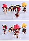 Anime One Piece Film Z Frank Sanji Nami Brook Q Version PVC Action Figure Collection Model Toys Dolls 4pcs/set OPFG268