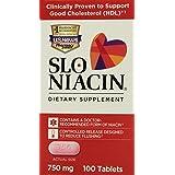 Slo-Niacin Polygel Controlled-Release Niacin, 750 Mg, 100 Count (Pack Of 12)