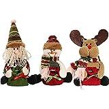 Generic Reindeer : Christmas Gift Candy Bag Tree Decor Ornaments Xmas Decor Santa Claus Snowman Reindeer YL873673