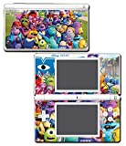 Monsters Inc University Mike Sulley Video Game Vinyl Decal Skin Sticker Cover for Nintendo DS Lite System