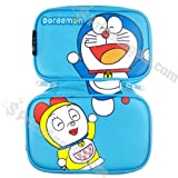 Protective Soft Cartoon Carrying Case for DSiLL-Doraemon(Blue)
