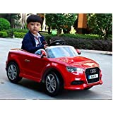 4kids. Audi L Iicensed Ride On Toy Car For Kids Remote Control 12 V Battery Operated. Ride On Ecar - B01ATRLYMG